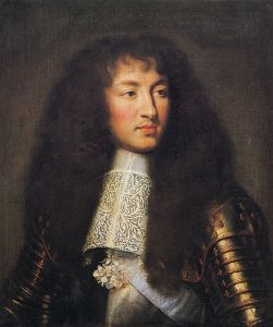 Louis XIV, by Charles Le Brun